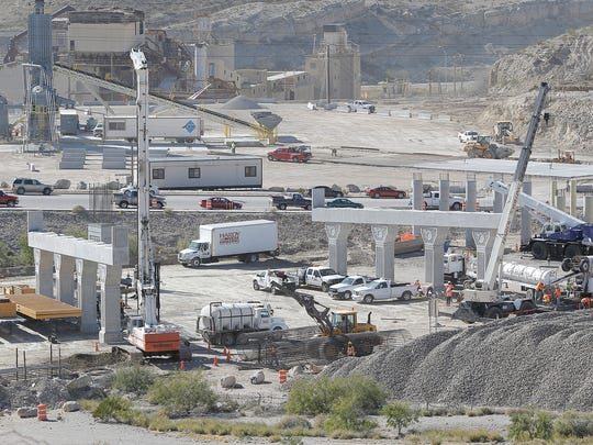 Work has begun on both the Border West Expressway project, above, and the Go 10 project.