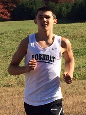 Freshman Adam Rzentkowski has been the No. 1 runner for the second-ranked Rosholt cross country team all season.
