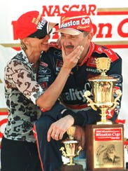 Dale Jarrett, of Hickory, N.C., and his wife Kelley