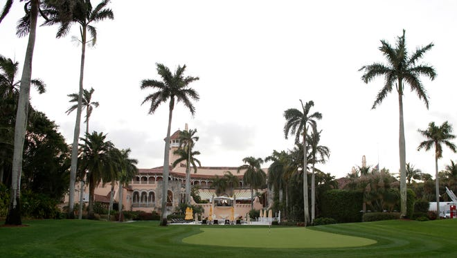 This March 11, 2016, file photo shows the Mar-A-Lago Club, owned by President Donald Trump, in Palm Beach, Fla. A staple of Palm Beach's high-end philanthropy circuit, the Mar-a-Lago Club boasts rich history, an 800-seat ballroom and ocean views.