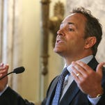 Kentucky Gov. Matt Bevin is a political warrior. Can his foes find the will to fight back?