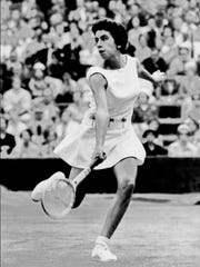 Maria Bueno was ranked No. 1 in the world in 1959,