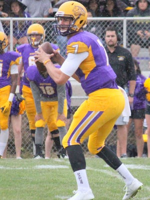 WNMU quarterback Mitch Glasmann is on mark to break records in passing.