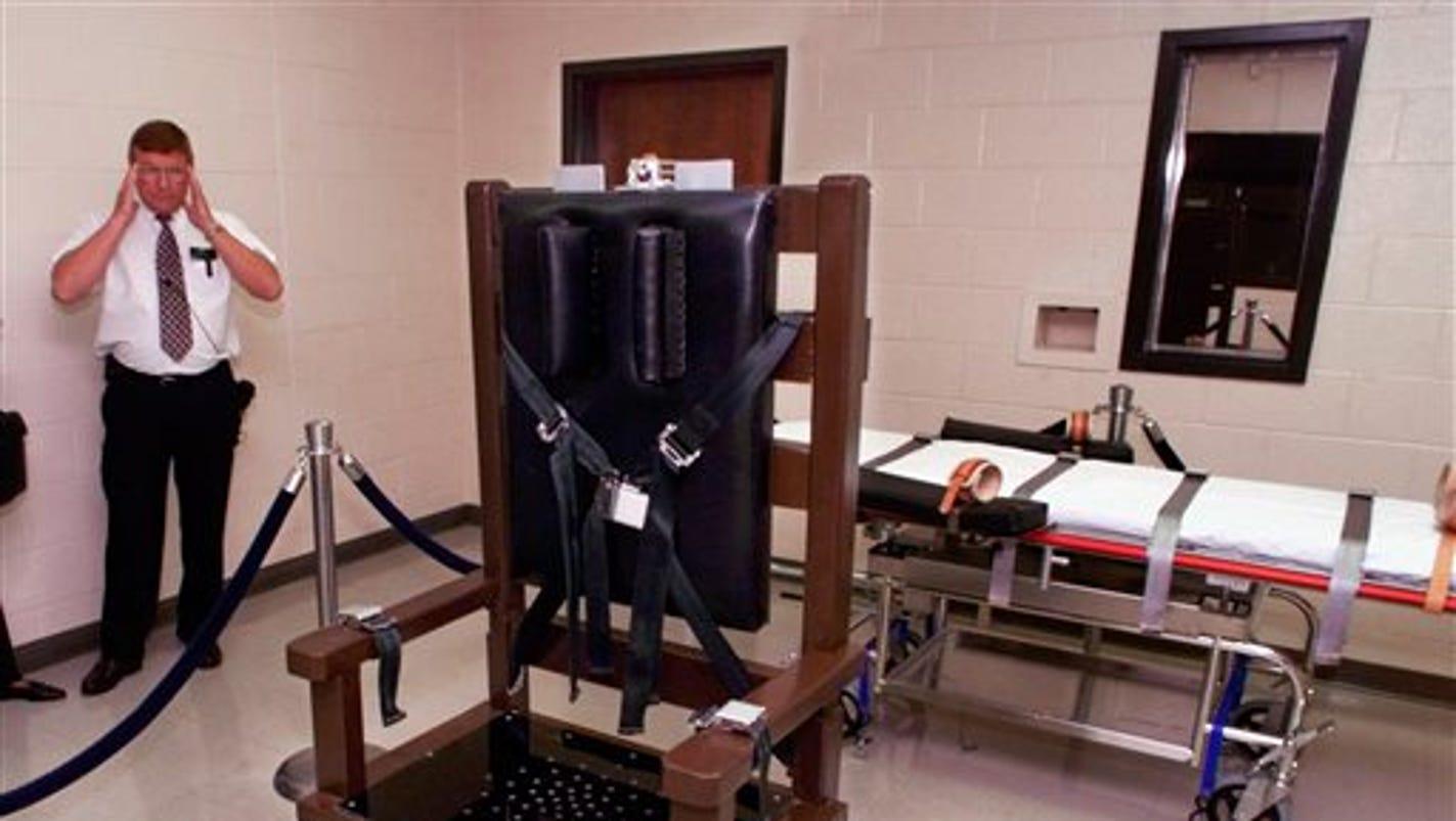 Electric chair chamber - Electric Chair Chamber 27