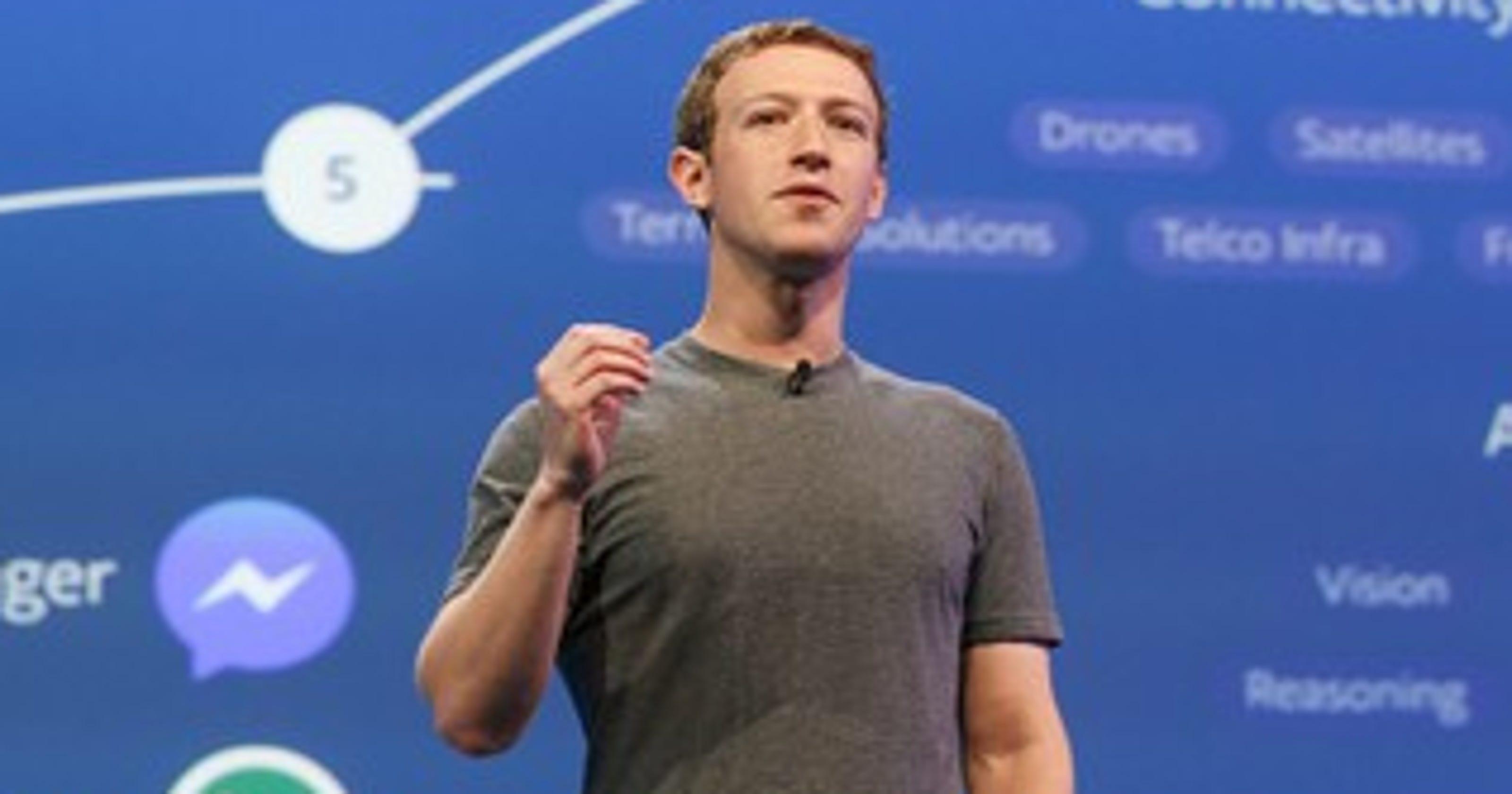 Facebook paid over $8 8 million for Mark Zuckerberg's