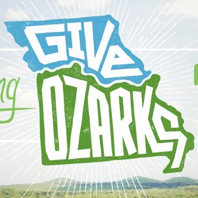 Give Ozarks Day is May 3. Visit giveozarks.org to see