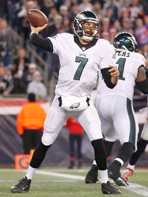 Sam Bradford had had an inconsistent year in his first season with the Eagles.