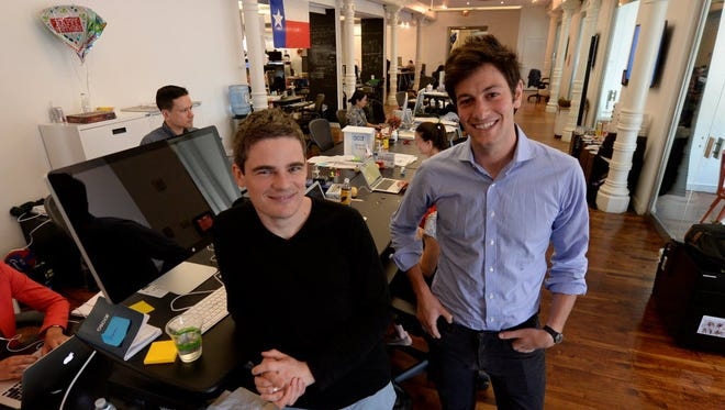 Oscar CEO Mario Schlosser (left) and co-founder Joshua Kushner want to leverage technology to make health care insurance as easy to interactive with as an e-commerce site.