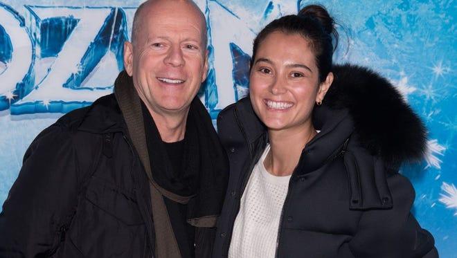 Bruce Willis and Emma Heming-Willis
