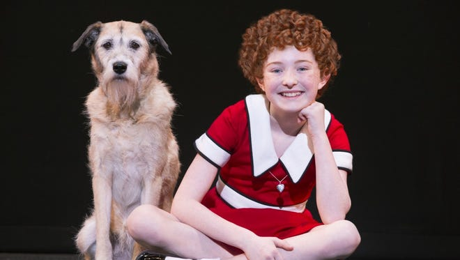 """""""Annie"""" will be performed this weekend at Stephens Auditorium in Ames."""