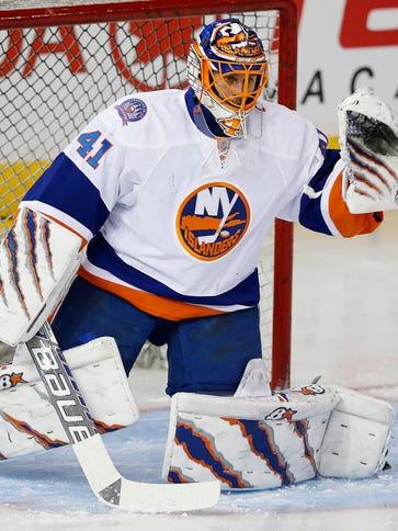 New York Islanders goaltender Jaroslav Halak had a