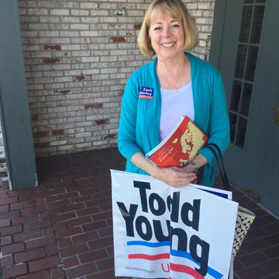 Barbara Knochel of Buck Creek is one of Indiana's 57 delegates to the Republican National Convention in July.