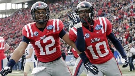 Former Ole Miss wide receiver Donte Moncrief is a potential second round NFL Draft pick.