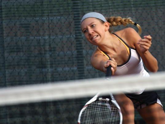 W.I.A.A. Homestead Sectional Tennis-11