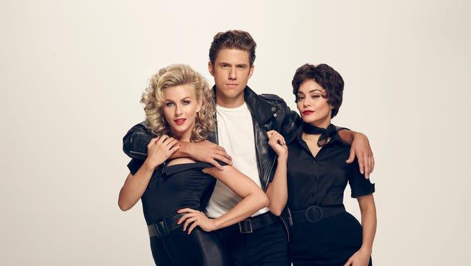 Julianne Hough, Aaron Tveit, and Vanessa Hudgens star in  Fox's 'Grease Live.'
