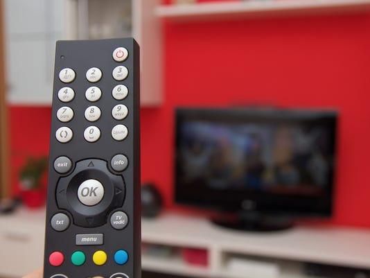 Remote control of TV