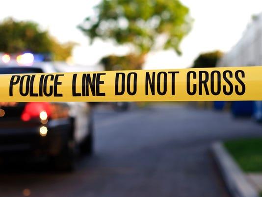 Breaking news - police tape