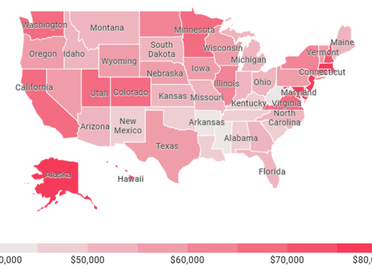 household income map