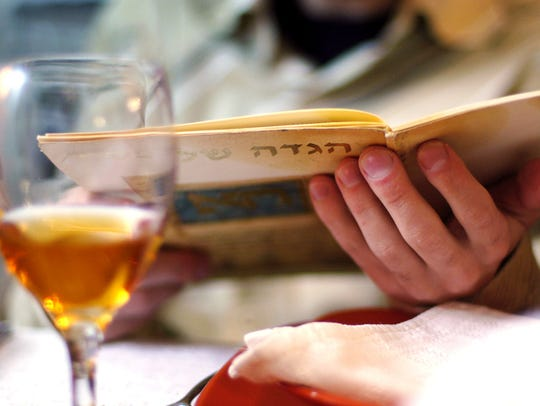 The Haggadah program and wine both play important roles