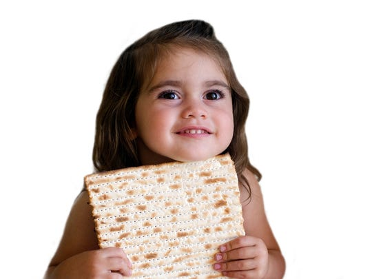 Passover can be fun for kids.