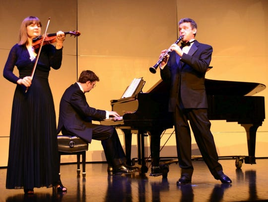 The Kat Trio, an ensemble from Russia, will give a