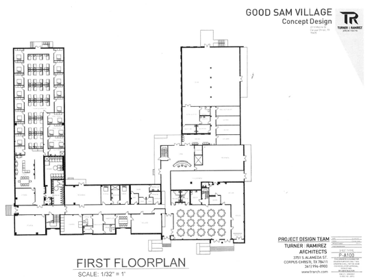 The Good Sam Village is a 100-bed expansion of the current
