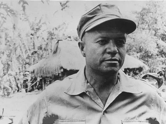 Frank McCulloch in Vietnam, 1967.