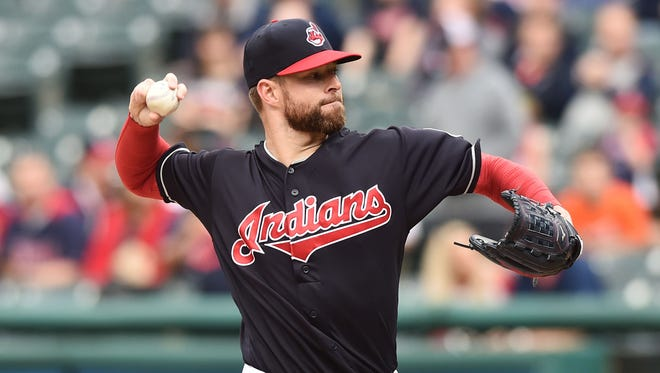 Corey Kluber is 3-2 with a 5.06 ERA in six starts this season.