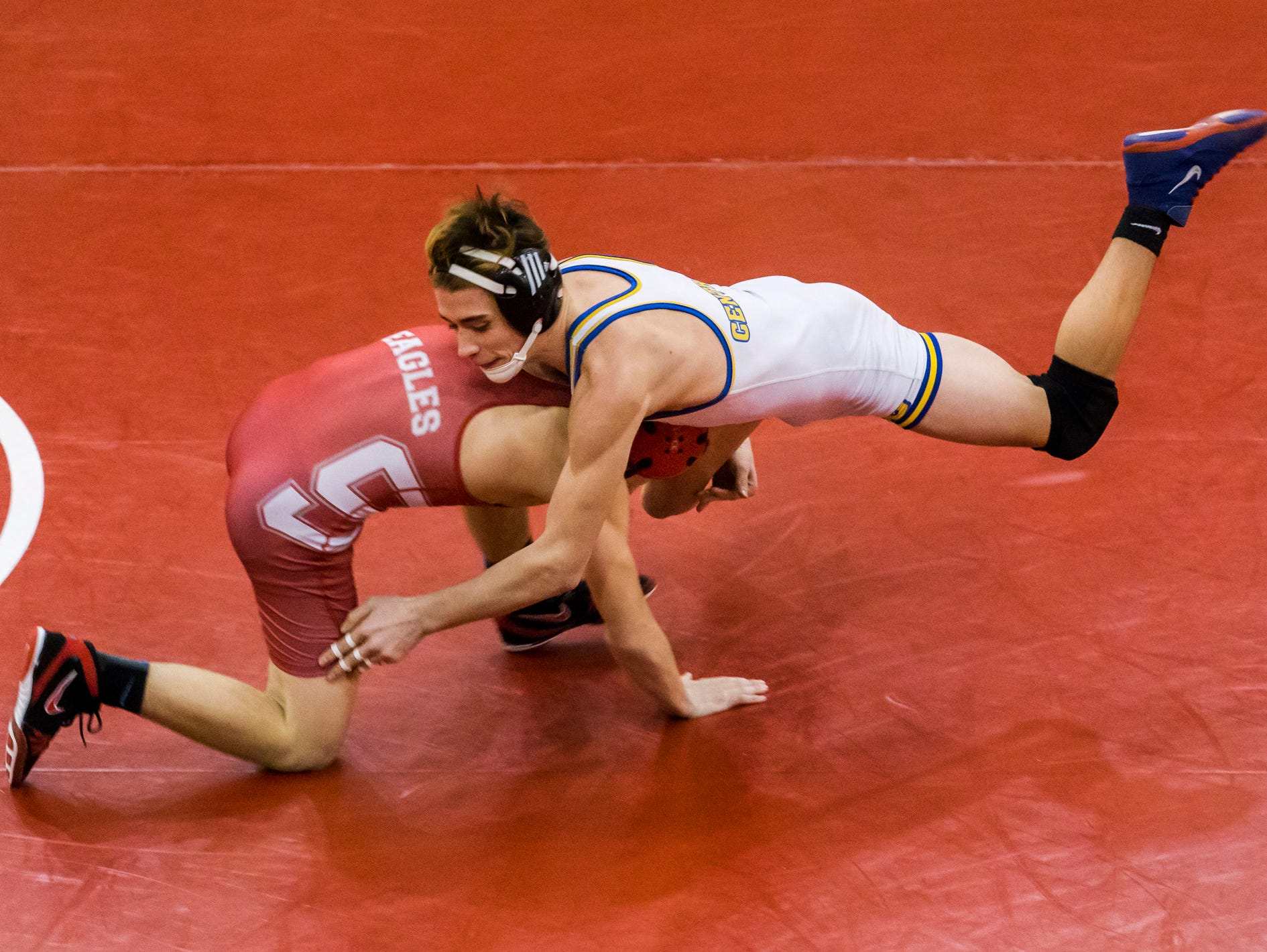 milford pins down div ii state wrestling title usa today high milford pins down div ii state wrestling title