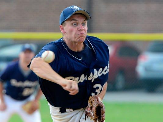 PHOTO:East Prospect vs. Hallam Susquehanna League baseball