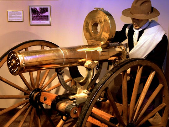 The Gatling Gun was invented by Richard Gatling of Indianapolis.