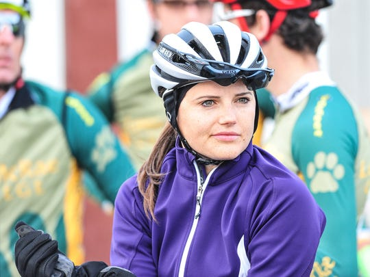 Jamie Bookwalter created the Bookwalter Binge Gran Fondo with husband Brent Bookwalter to benefit the Southern Appalachian Highlands Conservancy.