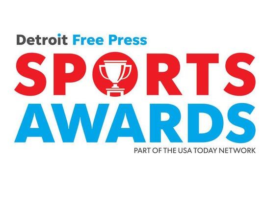 Detroit Free Press Sports Awards logo.