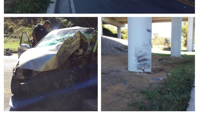A Gallatin teenager was killed Thursday morning when he struck a pillar on Tulip Poplar Drive.