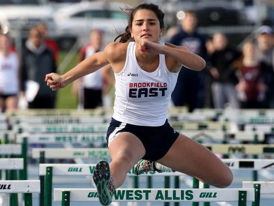 Brookfield East Girls Track