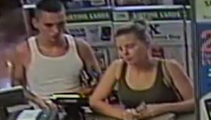 Police are searching for a couple in connection to a string of Price Hill robberies.