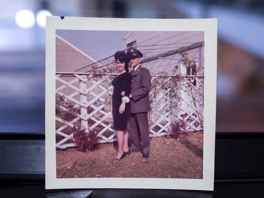 Marie Bovenzi (left) and Gregg D'Agostino, 1962. Photo/Marie Bovenzi