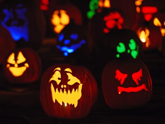 There will be plenty of jack-o-lanterns out as Springfield celebrates Halloween.