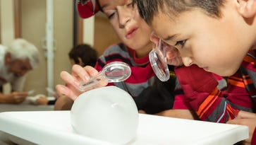 Families become climatologists at 'Saturday Family Science'