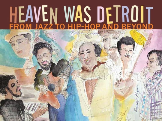 "The book cover for ""Heaven Was Detroit."""
