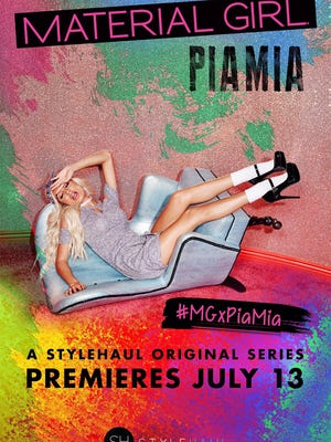 New YouTube series features Pia Mia and her work on Material Girl.
