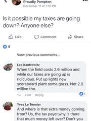 Pompton Lakes residents took to Facebook to discuss