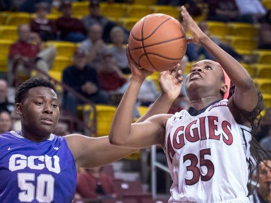 NMSU women's hoops
