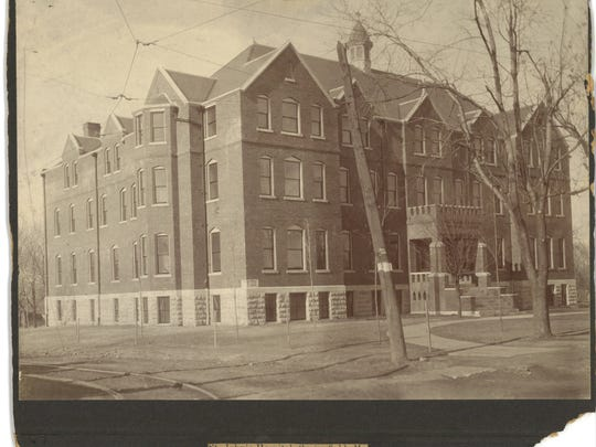 The second incarnation of St. John's Hospital at Main