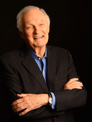 Alan Alda in New York on June 6. His new book is called 'If I Understood You, Would I Have This Look on My Face?: My Adventures in the Art and Science of Relating and Communicating.' It's about improving communication through empathy.