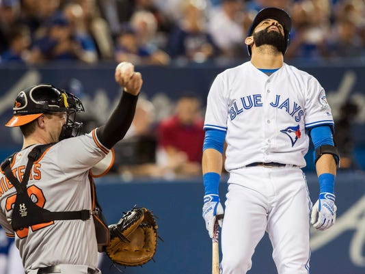 Jose Bautista, Matt Wieters