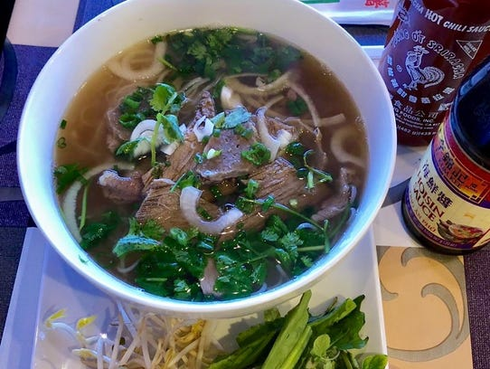 Pho Kingdom makes a slow simmered beef-bone broth for