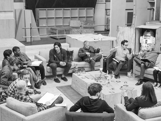 The first cast read-through of 'Star Wars: The Force