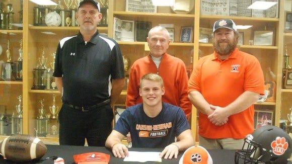 Rosman senior Tanner Green has signed to play college football for Carson-Newman (Tenn.).