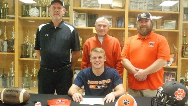 Rosman senior Tanner Green has signed to play college football for Carson-Newman (Tenn.).